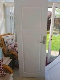 3 x white doors