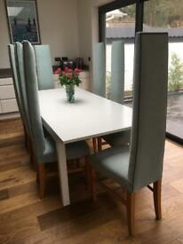 Bespoke Contemporary Dining Room Chairs x8