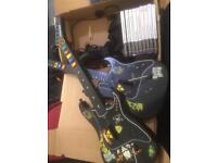 Ps2 controllers, games and guitars