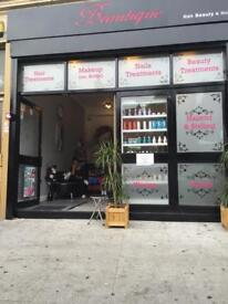 Beauty salone for rent (running business) leytonstone