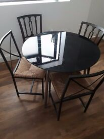 Dinning table & 4 chair