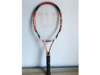Quality Wilson tennis racket, quick sale at only £25,I've got some other rackets too for sale