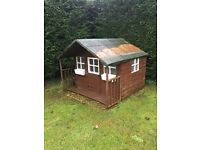 Wooden Wendy House/ Kids Playhouse