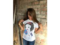 Urban Outfitters Snow White Print T- shirt
