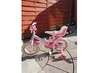 Hello Kitty 14 inch Bike with Stabilizers