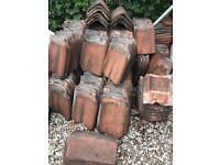 Red clay pan tiles - Birmingham