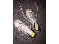 Boys Ronaldo football boots size 3.5