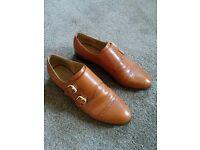 Women's Nine West Double Monk Strap Shoes - Size 5.5UK / 8US / 38.5EU