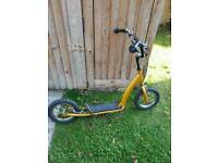 Childs bmx style push scooter