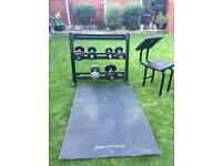 Weights, Weight Stand, Weight Seat & Mat