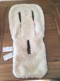 Bugaboo sheepskin liner