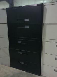 Global 5 Drawer Lateral File - Center Pull Handles - $325