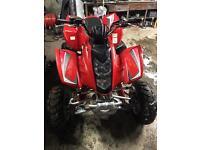 Hyosung rapier te 450 quad bike not raptor