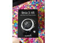 Garmin fenix 3HR watches