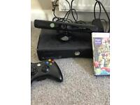 Xbox 360 with Kinect and game