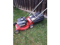 rover petrol push lawnmower