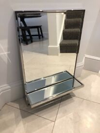 Brand new mirror with built in shelf