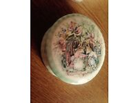 Royal Doulton 'Summer' Trinket Box