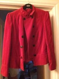 Coats and jackets size 14/16 money as new