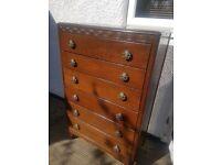 Antique Bedroom Drawers Cabinet