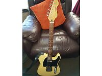 Vintage telecaster guitar.excellant condition as new .