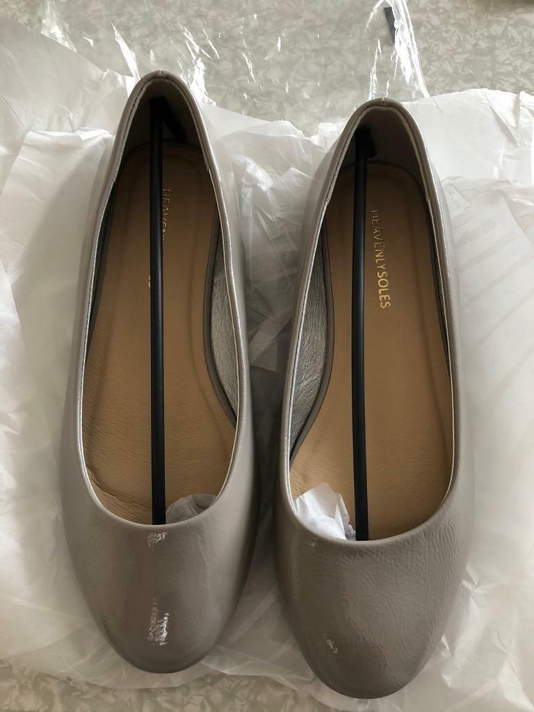 limited price latest style finest selection Brand new ladies grey flat shoes size 6 eee fit | in East End, Glasgow |  Gumtree