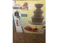 NEW Mini chocolate fountain