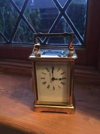 French Carriage Clock signed r and co