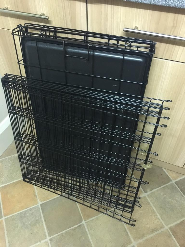 Dog crate and pen fencing