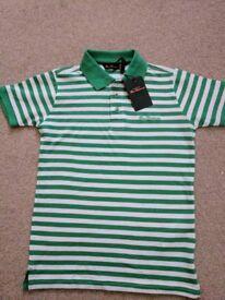 Brand New Boys Ben Sherman Polo T Shirt - Age 5/6