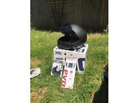 SHOEI RYD Matt Black Safety Helmet LARGE