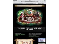 Hallowscream York - 1 spare ticket for Saturday 15 October