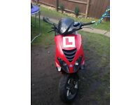 piaggio nrg 12 months mot fully working scooter moped not 125cc 50cc