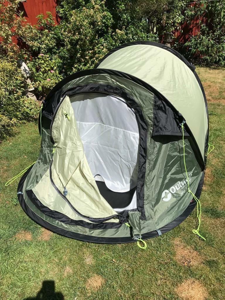 Outwell Jersey S popup 2 man tent | in Hinckley, Leicestershire | Gumtree