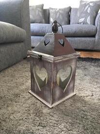 Matalan Wooden Lantern