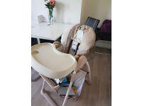 Haulck feeding chair used