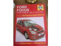 Ford Focus Haynes Manuel