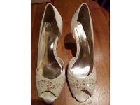 Monsoon Bridal Shoes size 7