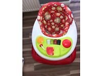 Unisex baby walker for sale used twice. Pick up or drop off Liverpool