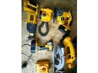 Tools dewalt impact drill saw