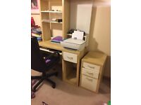 Ikea desk and chair smoke free pet free home great condition