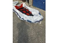 Brand new seago sr270 dinghy. Still in bag with pump and oars. Cost over £400