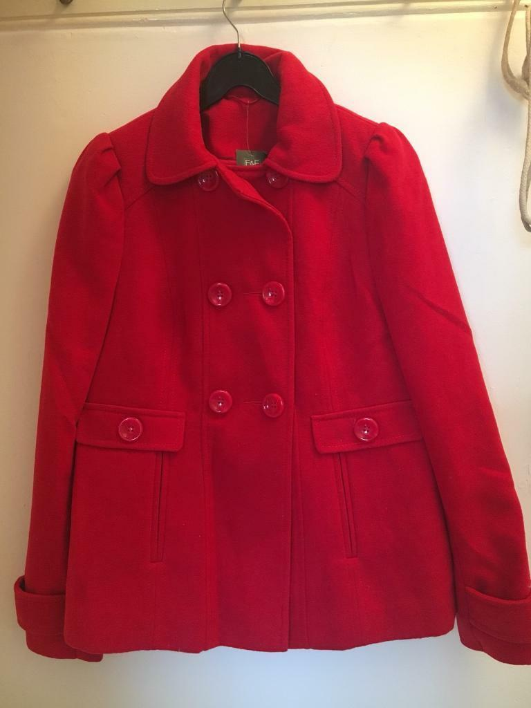 Brand new red winter coat