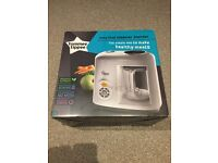 Barely used Tommee Tippee steamer blender