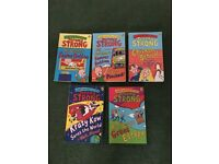 11 x paperback books by Jeremy Strong (also priced individually)