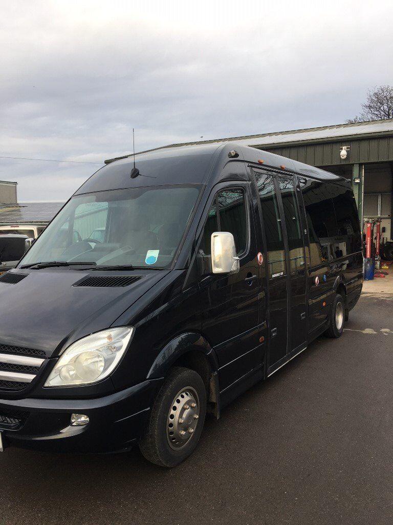 2012 BLACK MERCEDES SPRINTER 516 CDI UNVI BUILT 16 SEAT MINI-BUS - PRICE  REDUCED!! | in St Andrews, Fife | Gumtree