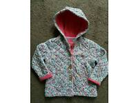 Girls joules coat age 3-4 years