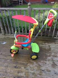 Unisex Smart Trike for sale in great condition