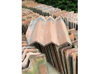 140 reclaimed clay roof tiles. c1850