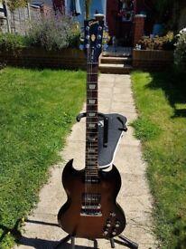 Gibson SG 50's Tribute Tobacco Brown 2013 Roadworn P90's
